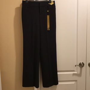 "NWT ""NINE WEST "" BLACK DRESS PANTS W/TUMMY CONTROL"